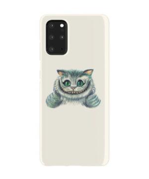 Cheshire Cat Alice in Wonderland for Stylish Samsung Galaxy S20 Plus Case