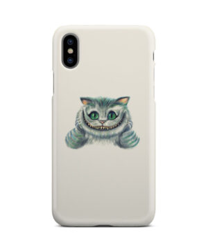 Cheshire Cat Alice in Wonderland for Unique iPhone X / XS Case Cover