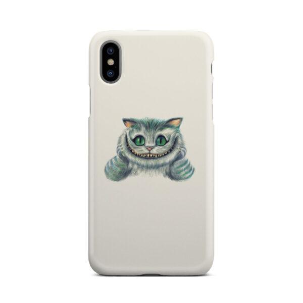Cheshire Cat Alice in Wonderland for Unique iPhone X / XS Case Cover