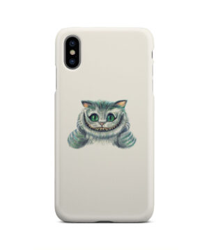 Cheshire Cat Alice in Wonderland for Unique iPhone XS Max Case Cover