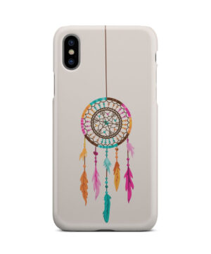 Colorful Dream Catcher Drawing for Amazing iPhone X / XS Case Cover
