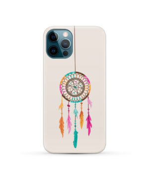 Colorful Dream Catcher Drawing for Cool iPhone 12 Pro Case Cover