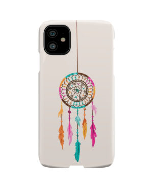 Colorful Dream Catcher Drawing for Customized iPhone 11 Case
