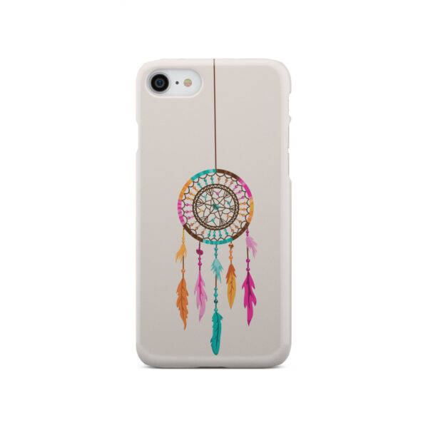 Colorful Dream Catcher Drawing for Customized iPhone SE 2020 Case Cover