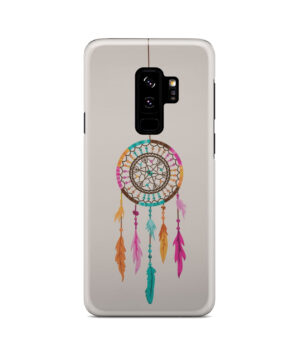 Colorful Dream Catcher Drawing for Newest Samsung Galaxy S9 Plus Case Cover