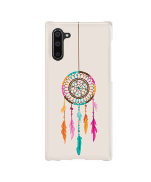 Colorful Dream Catcher Drawing for Nice Samsung Galaxy Note 10 Case Cover