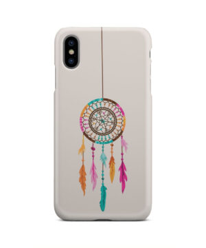 Colorful Dream Catcher Drawing for Simple iPhone XS Max Case