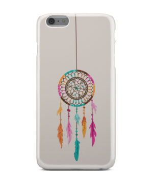 Colorful Dream Catcher Drawing for Trendy iPhone 6 Plus Case Cover