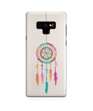 Colorful Dream Catcher Drawing for Trendy Samsung Galaxy Note 9 Case