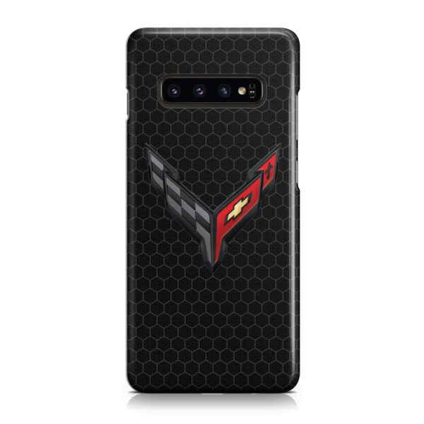 Corvette Black Carbon for Amazing Samsung Galaxy S10 Plus Case Cover