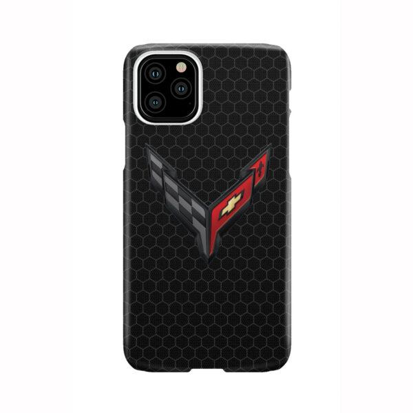 Corvette Black Carbon for Custom iPhone 11 Pro Case Cover
