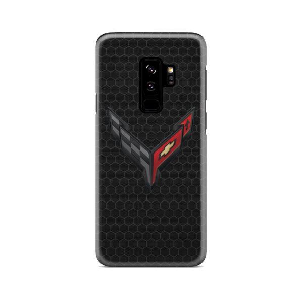 Corvette Black Carbon for Custom Samsung Galaxy S9 Plus Case Cover