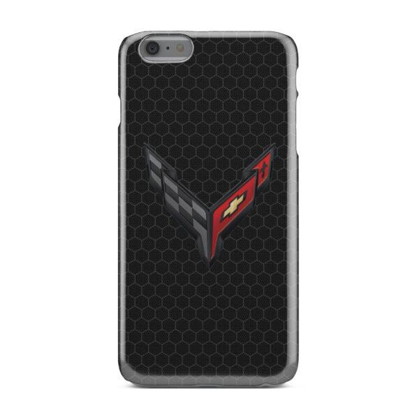 Corvette Black Carbon for Newest iPhone 6 Plus Case