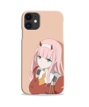 Cute Anime Zero Two Darling in the FranXX for Beautiful iPhone 11 Case Cover
