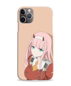 Cute Anime Zero Two Darling in the FranXX for Beautiful iPhone 11 Pro Max Case
