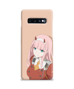 Cute Anime Zero Two Darling in the FranXX for Best Samsung Galaxy S10 Plus Case Cover