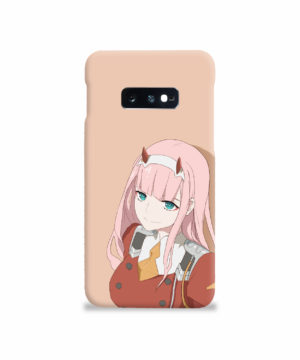 Cute Anime Zero Two Darling in the FranXX for Best Samsung Galaxy S10e Case