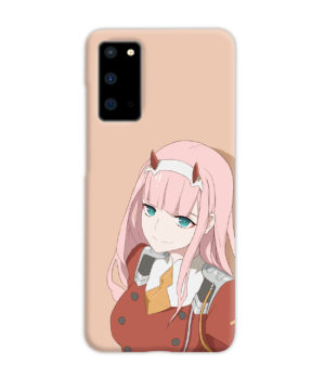 Cute Anime Zero Two Darling in the FranXX for Cool Samsung Galaxy S20 Case