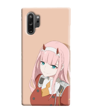 Cute Anime Zero Two Darling in the FranXX for Customized Samsung Galaxy Note 10 Plus Case