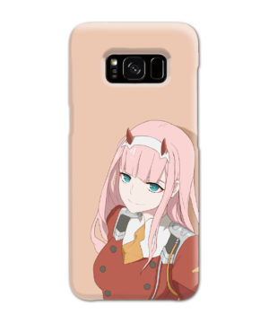 Cute Anime Zero Two Darling in the FranXX for Customized Samsung Galaxy S8 Case Cover