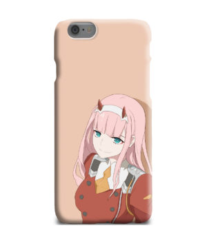 Cute Anime Zero Two Darling in the FranXX for Newest iPhone 6 Plus Case