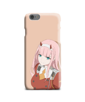 Cute Anime Zero Two Darling in the FranXX for Personalised iPhone 6 Case Cover