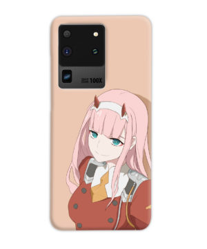 Cute Anime Zero Two Darling in the FranXX for Personalised Samsung Galaxy S20 Ultra Case