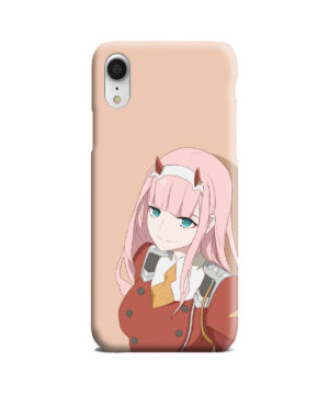 Cute Anime Zero Two Darling in the FranXX for Premium iPhone XR Case