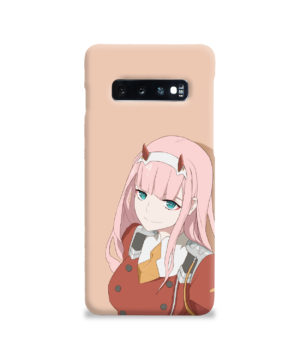Cute Anime Zero Two Darling in the FranXX for Simple Samsung Galaxy S10 Case Cover