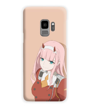Cute Anime Zero Two Darling in the FranXX for Simple Samsung Galaxy S9 Case Cover