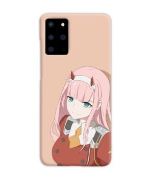 Cute Anime Zero Two Darling in the FranXX for Trendy Samsung Galaxy S20 Plus Case Cover