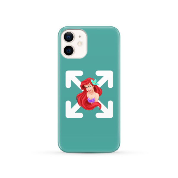 Cute Ariel The Little Mermaid Disney for Customized iPhone 12 Case