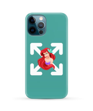 Cute Ariel The Little Mermaid Disney for Trendy iPhone 12 Pro Max Case Cover