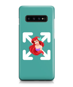 Cute Ariel The Little Mermaid Disney for Trendy Samsung Galaxy S10 Plus Case Cover