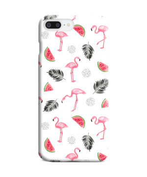 Cute Flamingos And Watermelon for Newest iPhone 7 Plus Case Cover