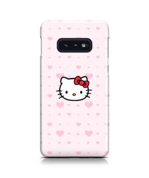 Cute Hello Kitty Pink Polka Dots for Best Samsung Galaxy S10e Case Cover