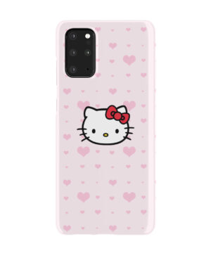 Cute Hello Kitty Pink Polka Dots for Cool Samsung Galaxy S20 Plus Case Cover