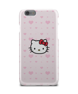 Cute Hello Kitty Pink Polka Dots for Custom iPhone 6 Case