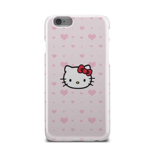 Cute Hello Kitty Pink Polka Dots for Custom iPhone 6 Case