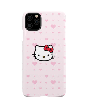 Cute Hello Kitty Pink Polka Dots for Nice iPhone 11 Pro Max Case