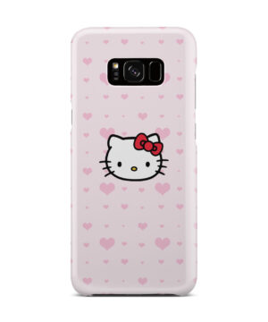 Cute Hello Kitty Pink Polka Dots for Nice Samsung Galaxy S8 Plus Case