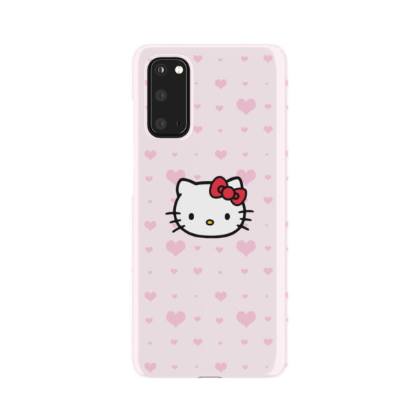 Cute Hello Kitty Pink Polka Dots for Simple Samsung Galaxy S20 Case Cover