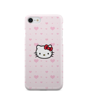 Cute Hello Kitty Pink Polka Dots for Stylish iPhone SE 2020 Case