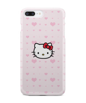 Cute Hello Kitty Pink Polka Dots for Trendy iPhone 8 Plus Case Cover