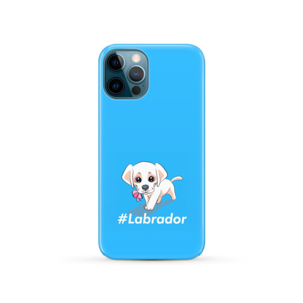 Cute Little White Puppy Labrador Retriever Dog for Nice iPhone 12 Pro Case