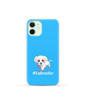 Cute Little White Puppy Labrador Retriever Dog for Trendy iPhone 12 Mini Case Cover