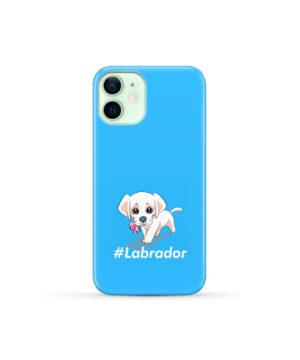 Cute Little White Puppy Labrador Retriever Dog for Trendy iPhone 12 Mini Case Cover