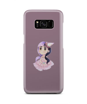 Cute Melanie Martinez Chibi for Customized Samsung Galaxy S8 Case