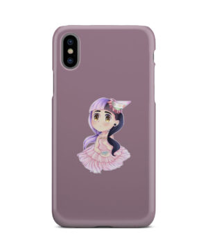 Cute Melanie Martinez Chibi for Personalised iPhone X / XS Case Cover