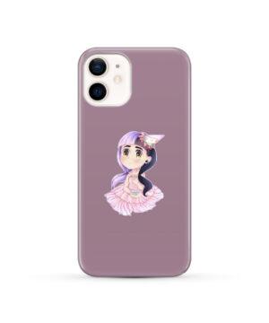Cute Melanie Martinez Chibi for Simple iPhone 12 Case Cover